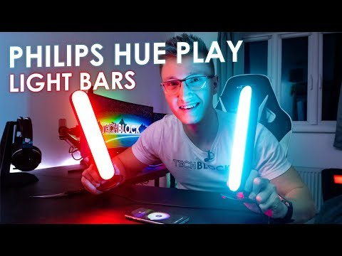 Philips Hue Play - LED Light Bars | Works with Razer Chroma & Hue Sync