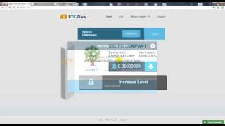 Больше всех платящий кран по заработку Bitcoin  BTC Flow