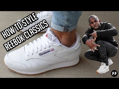 How to Style Reebok Classics
