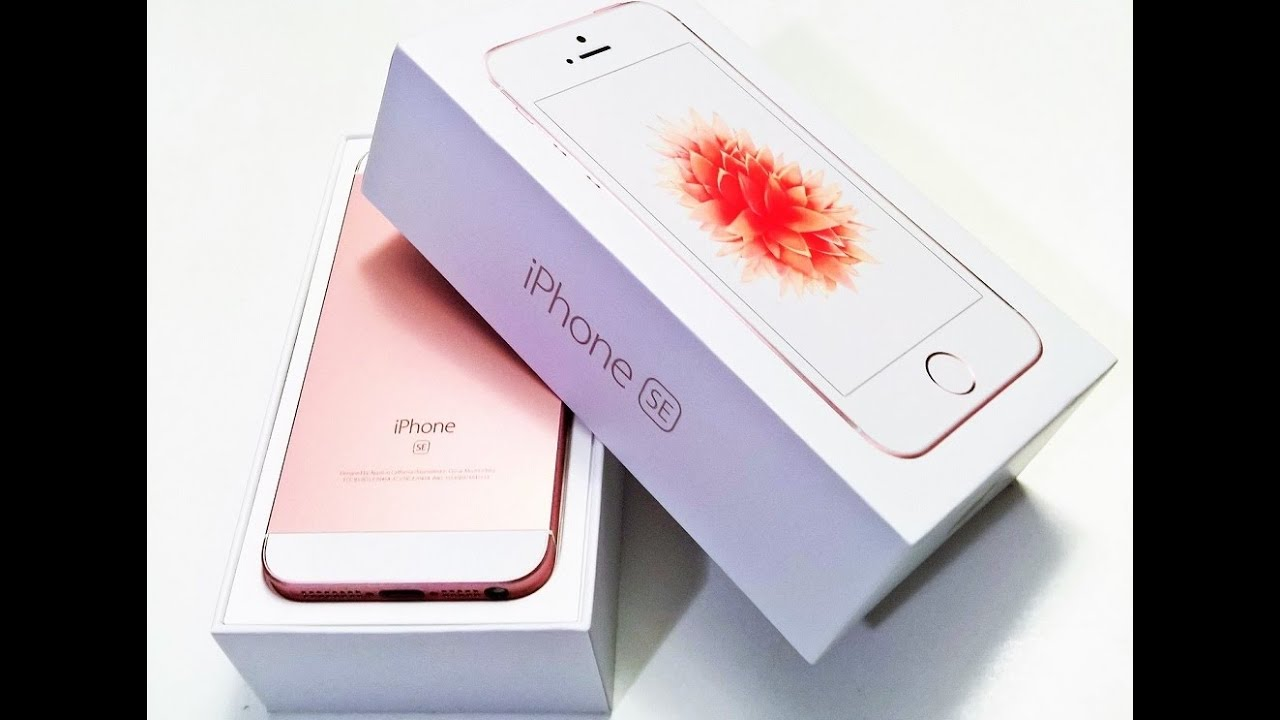 Iphone Se Rose Gold Gb
