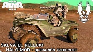 MISIÓN COOPERATIVA | SALVA EL PELLEJO EN TAURUS II | ArmA 3 - HALO MOD (1080p60 HD)