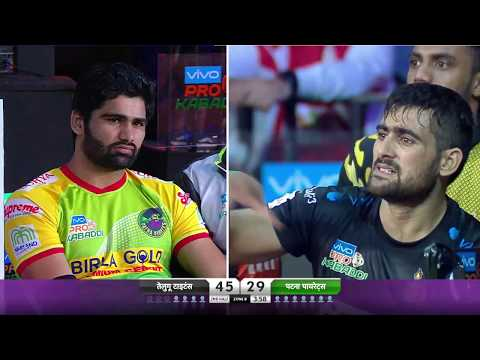 Pro Kabaddi 2018 Highlights | Patna Pirates Vs Telugu Titans | Hindi