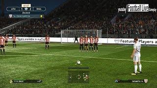 PES 2019 | Athletic Bilbao vs Real Madrid | Bale Free Kick Goal | Gameplay PC
