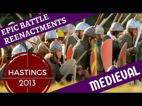 Epic Medieval Reenactment [1000+ Reenactors] -- Hastings 2012