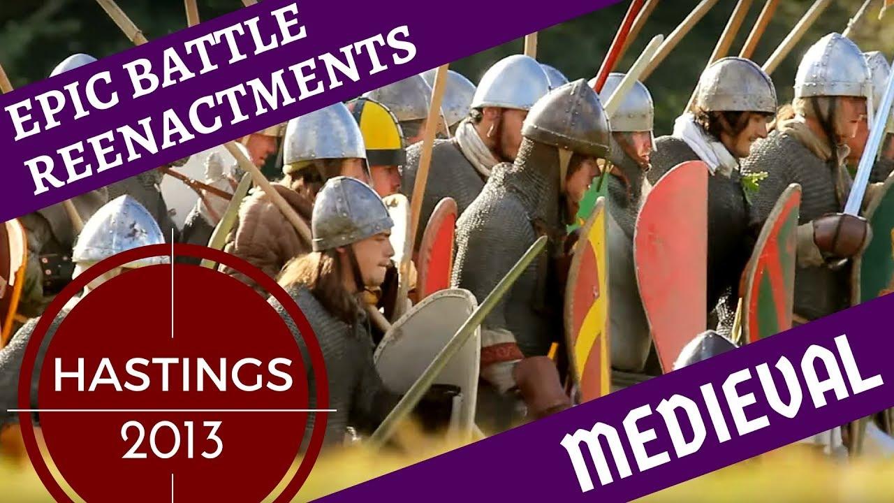 Download Epic Medieval Reenactment [1000+ Reenactors] -- Hastings 2012