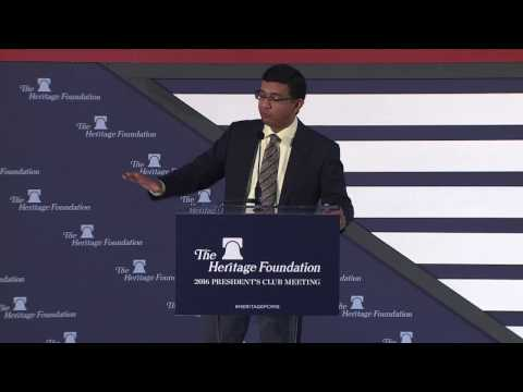 Dinesh D'Souza on the Future of America | The Heritage Foundation