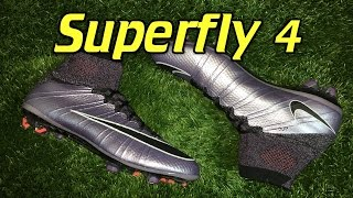 Nike Mercurial Superfly 4 (Liquid Chrome Pack) Urban Lilac - Review + On Feet