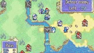 Fire Emblem - Fire Emblem (GBA / Game Boy Advance) - chapter 13 and 14 - User video