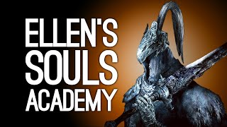 Playing Dark Souls for the First Time! Artorias of the Abyss DLC - Ellen's Souls Academy
