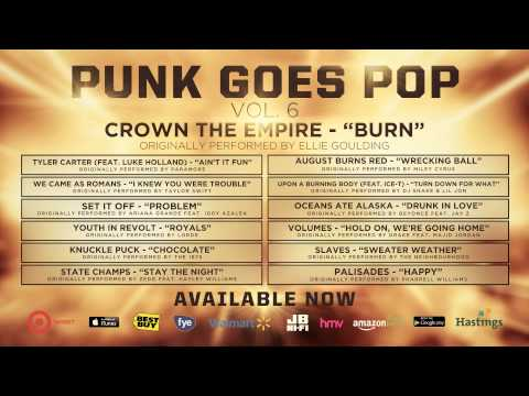 "Punk Goes Pop Vol. 6 - Crown The Empire ""Burn"""