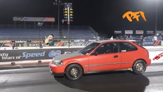 Can a 100 dollar ebay turbo Go 10' s in the quarter mile