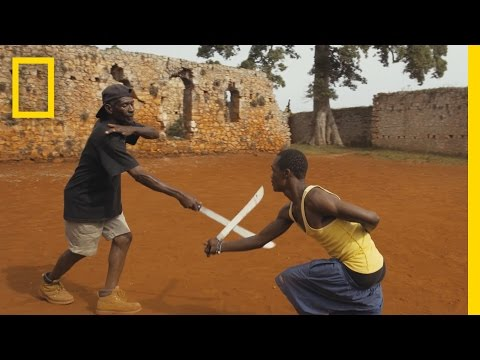 A Machete Martial Arts Master Shares His Secrets  Short Film Showcase