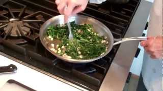 Braised Dandelion Greens
