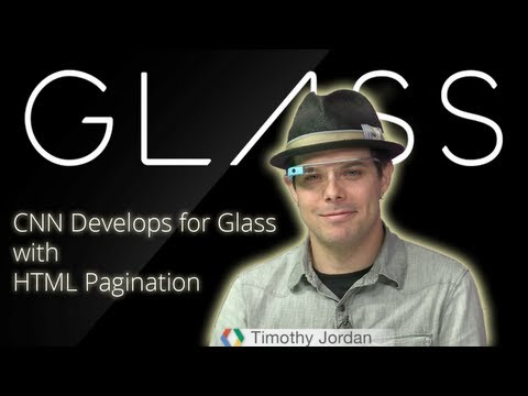 Glass: CNN And HTML Pagination