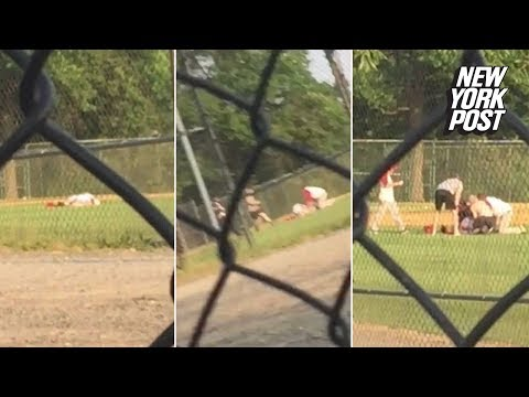 The moment a gunman opened fire on GOP baseball team