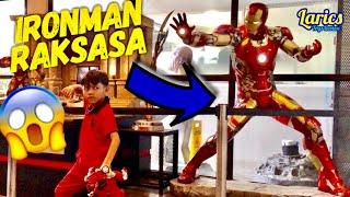 Yuk Lihat IRONMAN Raksasa 😱😱😱 ( Spiderman, Superman, Batman, Hulk, Transformer ) ICONIC JOGJA