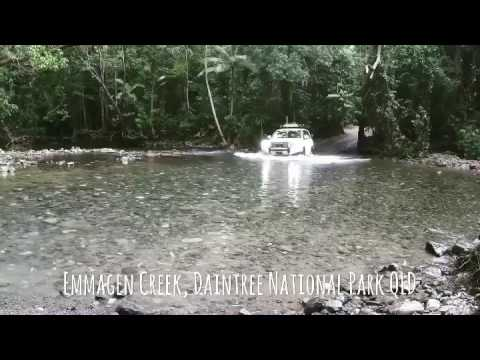Emmagen Creek Crossing - Daintree National Park