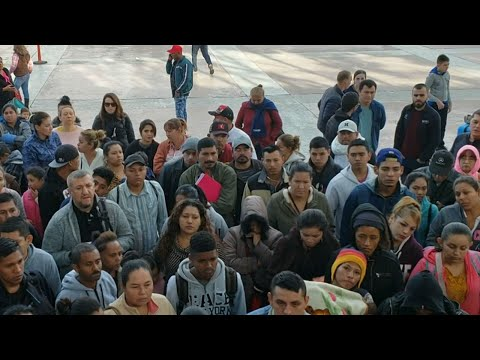 Central American migrants meet hostility on both sides of US-Mexico border