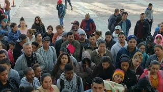 Video Central American migrants meet hostility on both sides of US-Mexico border download MP3, 3GP, MP4, WEBM, AVI, FLV November 2018