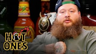 Download Action Bronson Blows His High Eating Spicy Wings | Hot Ones Mp3 and Videos