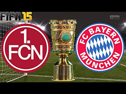 FIFA 15 - FC Bayern München gegen 1.FC Nürnberg (DFB Pokal ACHTELFINALE) ◄FCB #31/S2►