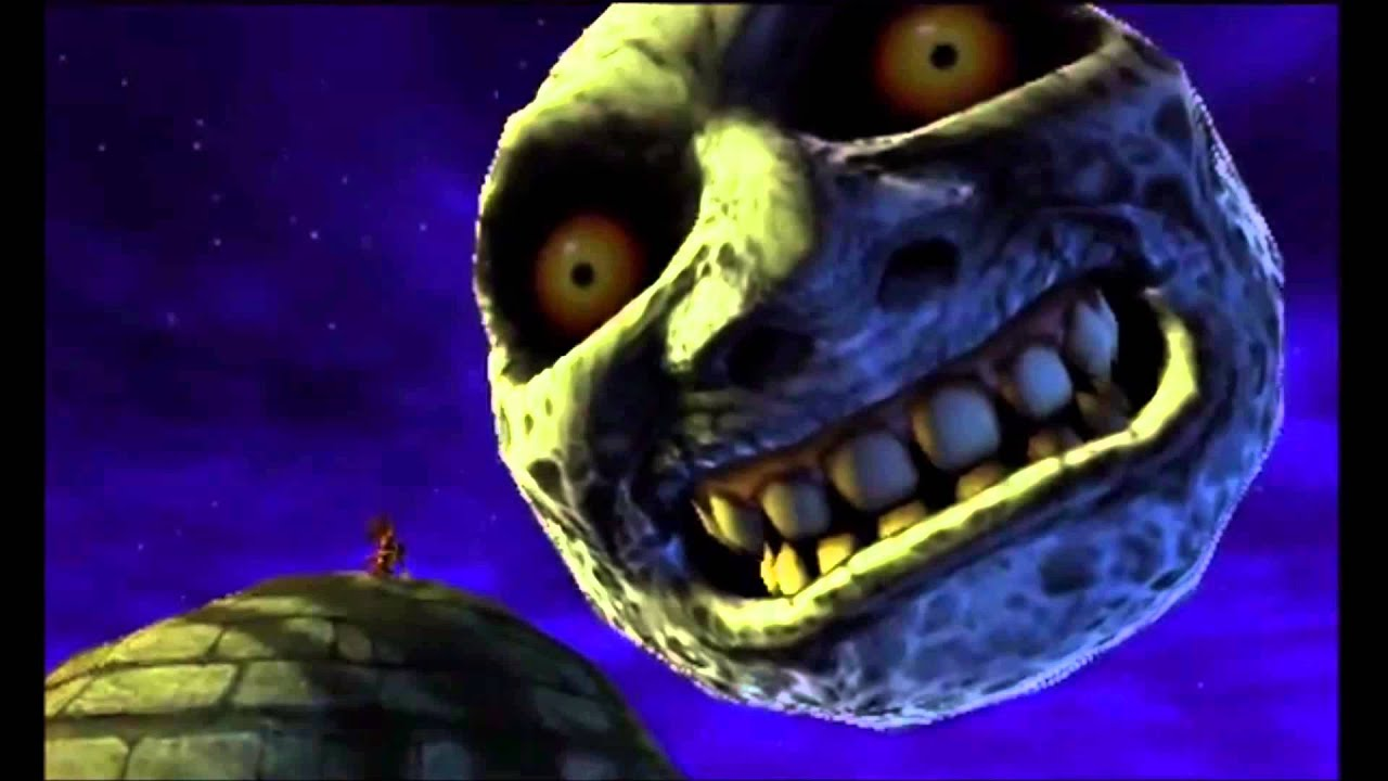 Image result for majora moon