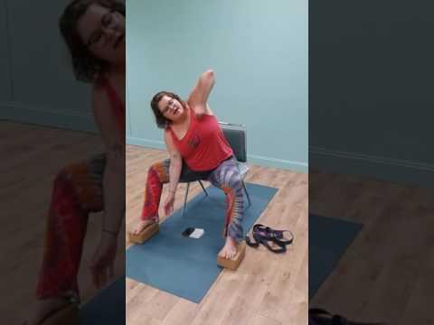 Chair Yoga Squence