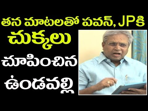 Undavalli Arun Kumar Excellent Speech at JFC Meeting, Blames Congress Party|| 2day 2morrow
