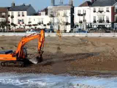 ENVIROMENT WORKS ON DEAL BEACH