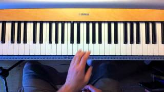 building seventh chords on the piano keyboard
