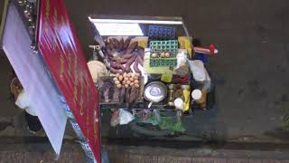 VIETNAM:  SAIGON:  STREET FOOD VENDOR