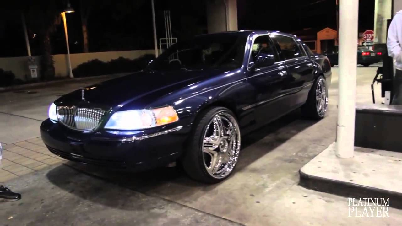 Lincoln Town Car On 24 Inch Dub Cream Central Florida Series Youtube
