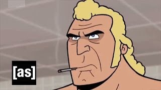 Brock and Shore Leave Bathe | The Venture Bros. | Adult Swim