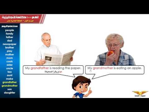 أهم 1000 كلمة إنجليزية   حلقة 11 أمي وأبي