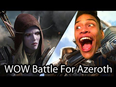 World Of Warcraft Battle For Azeroth | Week Leonardo | Vídeo Reacción | Te Amo Sylvanas