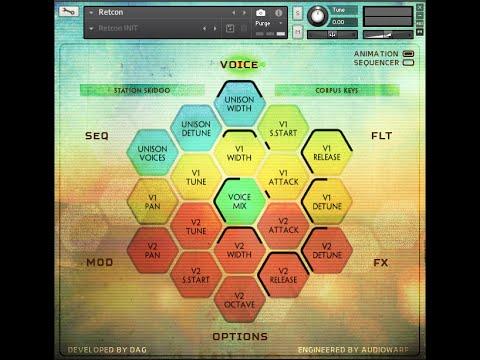 RETCON - AudioWarp