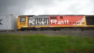Kiwi Rail fron Intercity Bus in North Island
