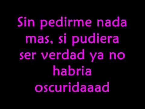 Belinda - Luz Sin Gravedad - Con Letra