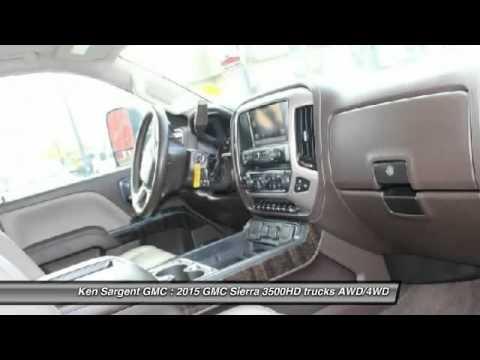 2015 GMC Sierra 3500HD Grande Prairie Alberta 260049A
