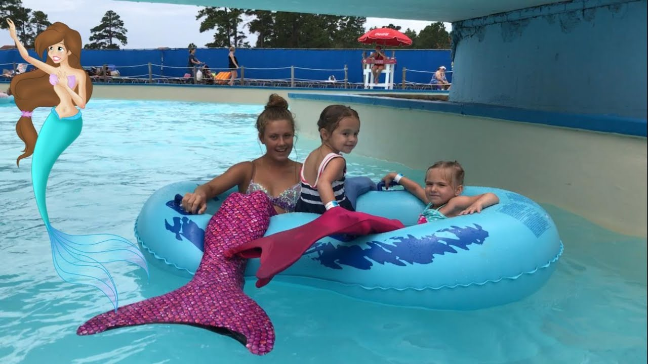 Mermaid Lazy River Princess Makeover Magic Myrtle Beach