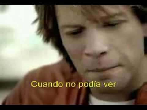 bon jovi - thank you for loving me (subtitulado)