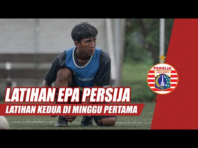Latihan Minggu Kedua Elite Pro Academy Persija Jakarta