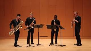 Glazunov Saxophone Quartet, Op. 109, Mvt.  I