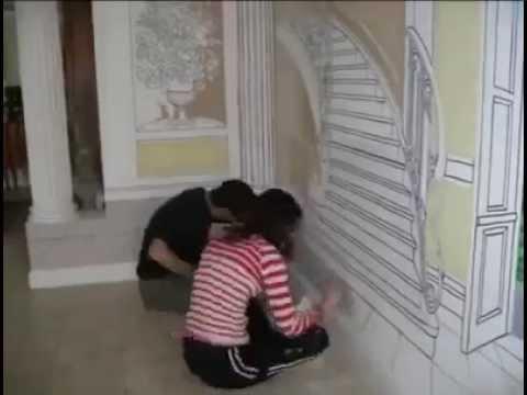 Duvar Boyama Ve Duvar Resimleri Youtube