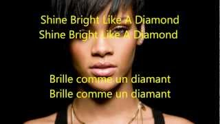 Rihanna Diamonds traduction francaise  HD