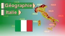La Géographie de l'Italie