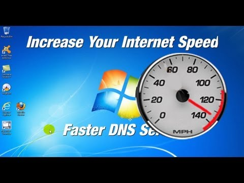 How To Increase Your Internet Speed - Open DNS Free & Easy