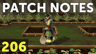 RuneScape Patch Notes #206 - 12th February 2018