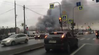 В Питере горит Лента
