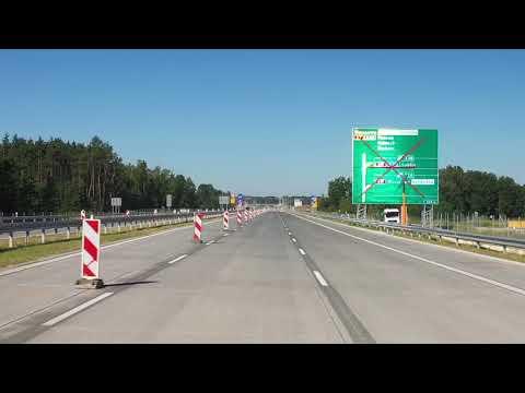 A2 od węzła Lubelska do początku obwodnicy Mińska Mazowieckiego, sierpień 2020 r.
